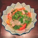 Vegetarian Tom Yum Glass Noodle
