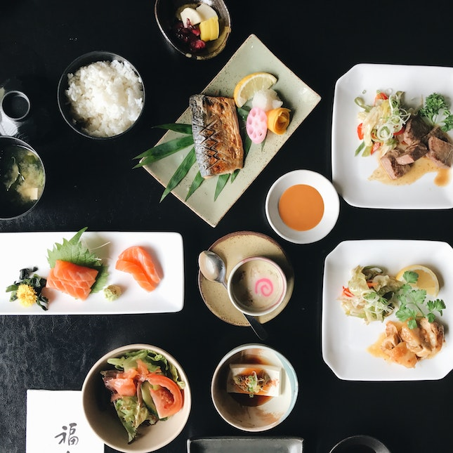 For a Zen Lunch In The City