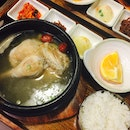 Ginseng Chicken Soup + Rice