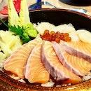 Salmon Hotate Chirashi ($23.80++, before #entertainerapp).