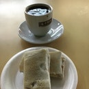 Kopi o and kayabutter toast ($2.20)