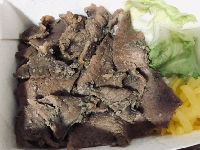 Japanese Beef Don ($4.50)