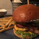 Avocado Burger (double patty)
