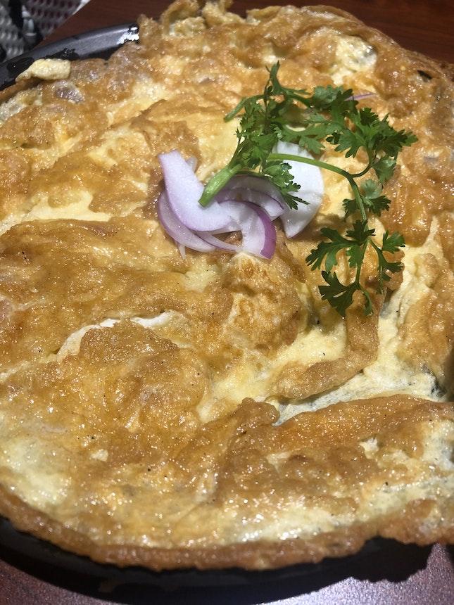 Prawn Omelette