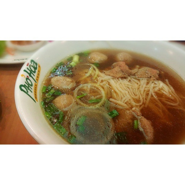 Ny meatball and steak pho.