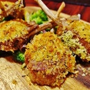 [Fratini La Trattoria] The Herb-Crusted Lamb Rack was another of my favourite dish.