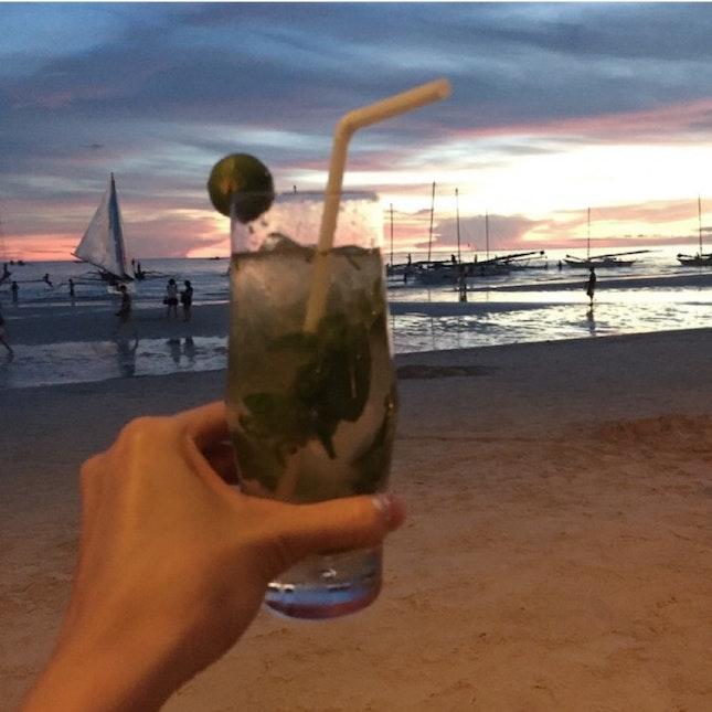 Mojitos By The Beach