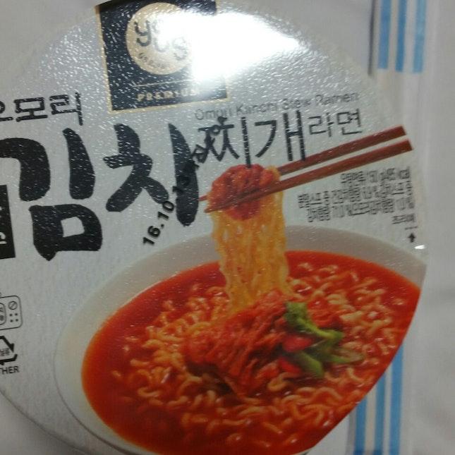omori kimchi stew ramen