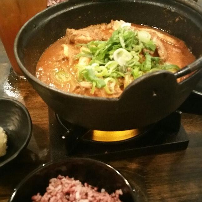 spicy chicken stew for 2 ($29)