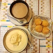 Yam Paste, Durian Sago And Mochi