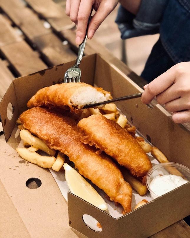 🐟🍟Captain Snapper's Fish & Chips ($14.90)