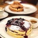 Blueberry Pancakes ($19)