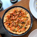 Pizza Bianca with Tomato Concasse ($10.90)