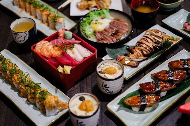 Craving for some Japanese Feast?