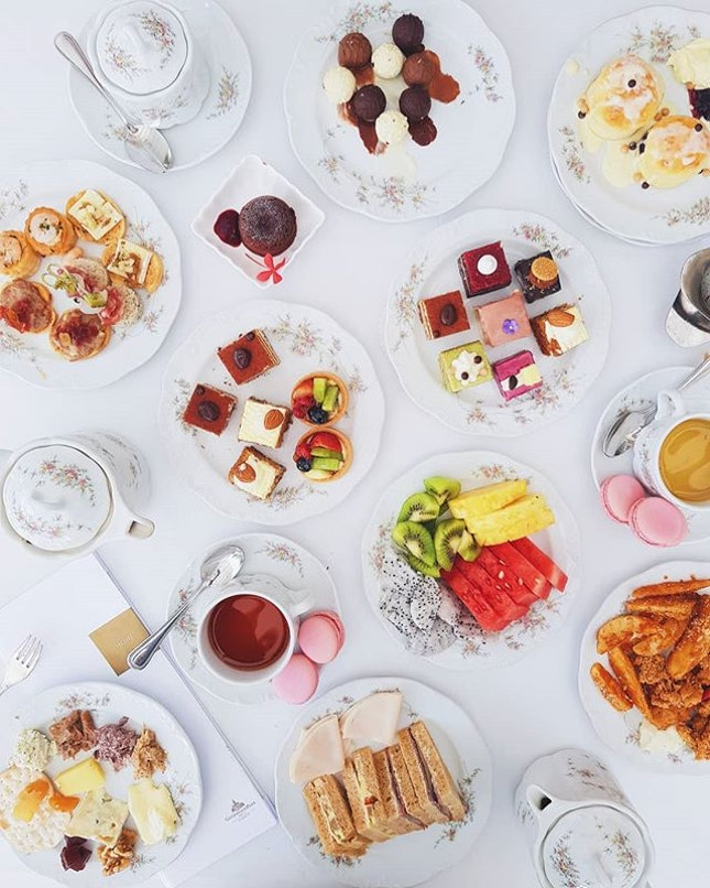 Just when I thought a High Tea Buffet wouldn't be that extra.
