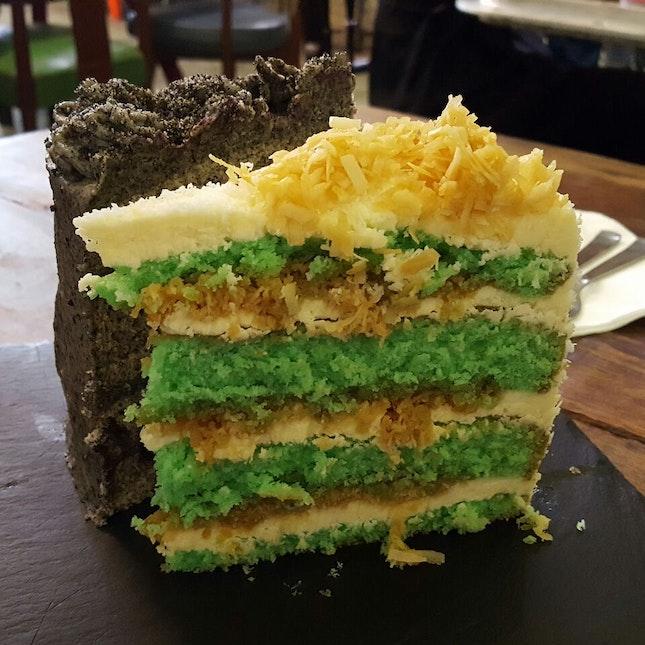 Ondeh Ondeh & Black Sesame Cake
