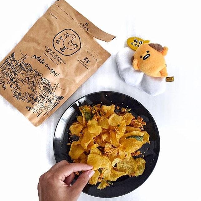 @tgdsingapore has THE best salted egg snacks ever.