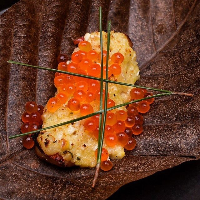 Best dish at Nami has got to be this, the velvety tender fish soaked in potato salad and IKURA.