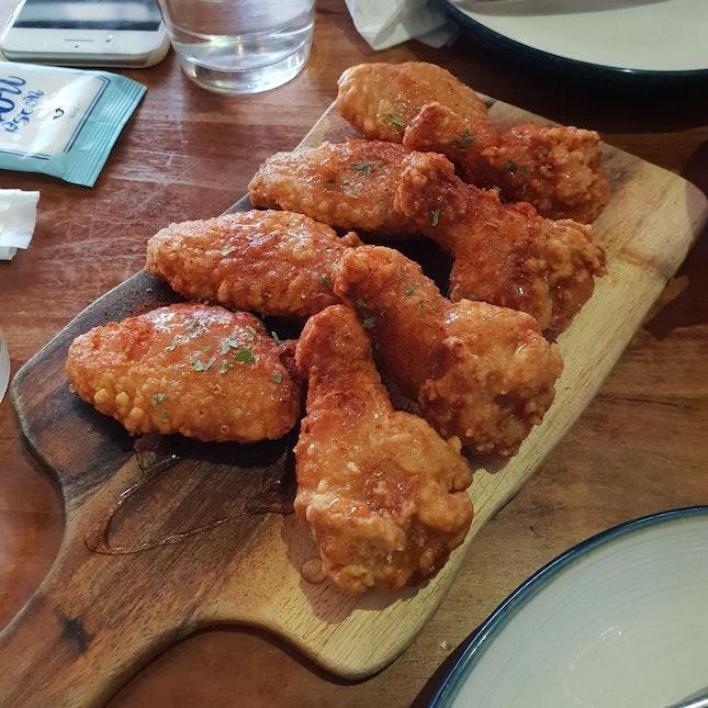 Honey Paprika Wings