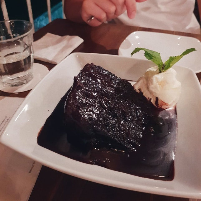 Death by Chocolate Cake $13