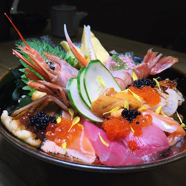 En Kaisen Chirashi Don from En Sakaba, newly opened next to Cold Stone Creamery on the first floor of Orchard Central.