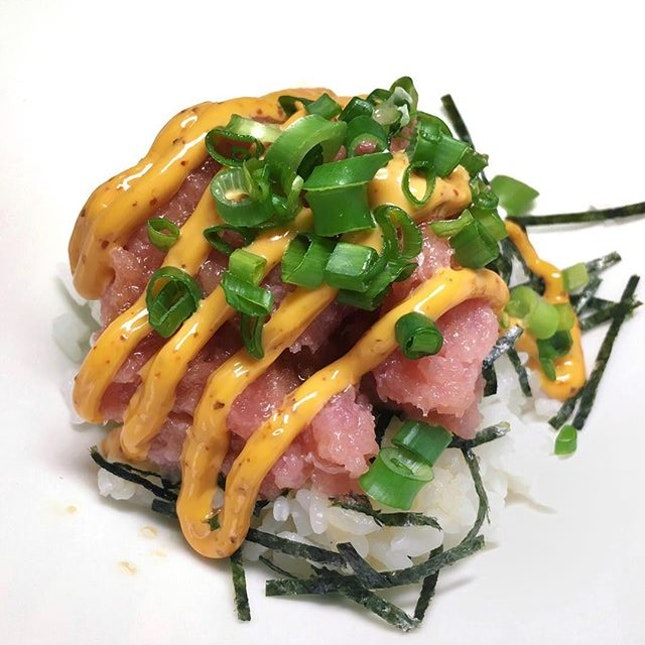 Spicy Tuna Don from Horse's Mouth.