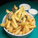 The Early Fatback: Truffle Fries from Cin Cin, situated within Oasia Hotel (Downtown) at Tanjong Pagar.