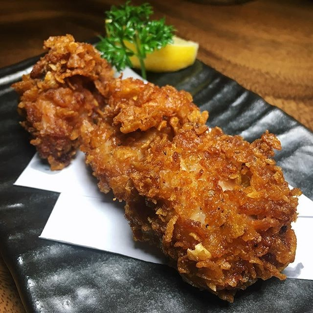 Chicken Karaage from Jimoto-Ya, situated along Nankin Row near China Square Central.