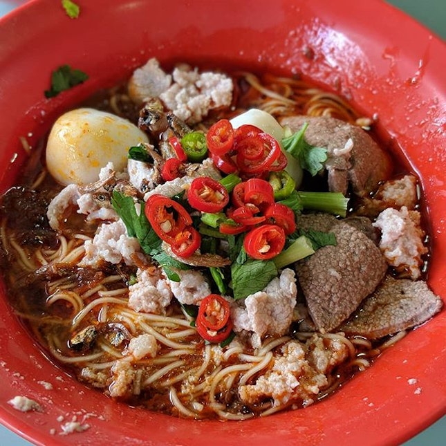 Signature Mee Sua Dry from Man Yuan Gourmet, Toa Payoh Lorong 8 Market & Food Centre.