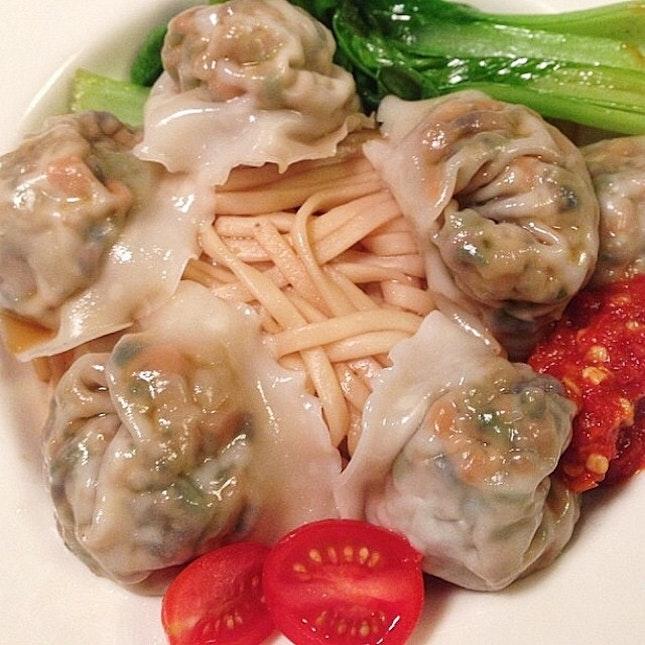 Meat-free dumplings!