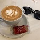 Coffee ☕️ #cappucino #outrampark #cafe #burpplesg #burrple