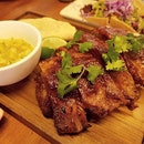 Roasted pork ribs from @superloco_robertsonquay #mexicanfood .
