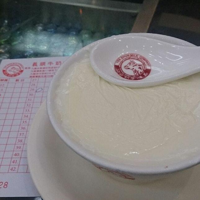 Steamed Milk Dessert