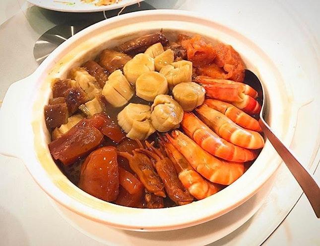 My type of big bowl feast (盆菜)#toysfooddiary #burpple #burpplesg #bigbowlfeast #foodporn #foodie #foodlover