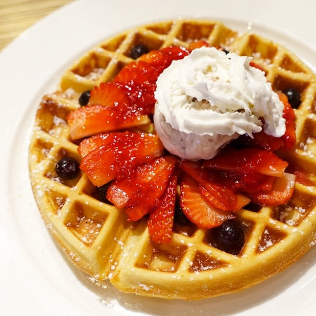 Waffles - a good way to make your calories count.
