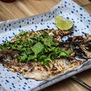 Fantastically grilled seabass