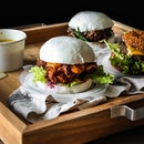 Fusion bao burgers I'd gladly have any day.