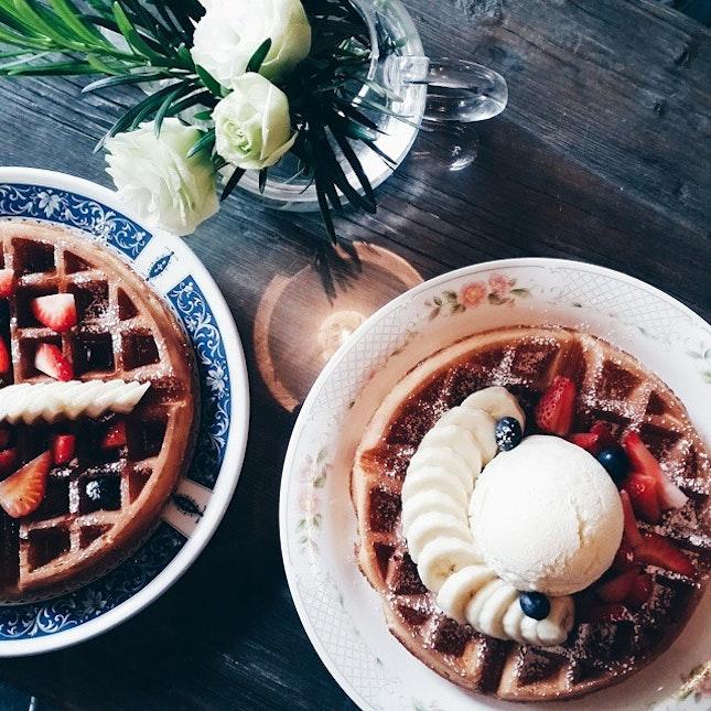 2foodgeeks Eat Waffles