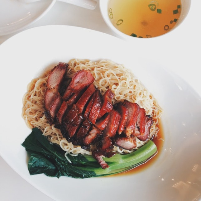 Char Siew Noodles (Dry)
