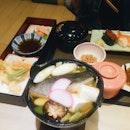 Kurobuta Yakiniku Gozen, Sushiya no Yosenabe- Special Hotpot
