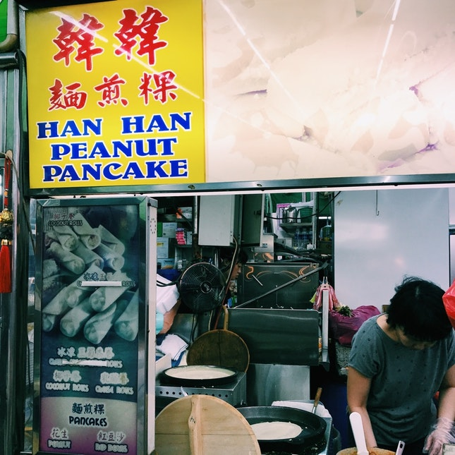 Crispy, Thick Pancakes ( Coconut/ Peanut/ Red Bean)