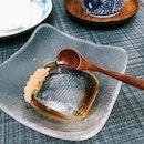 Mizu Shingen Mochi (Japanese water/ raindrop cake)