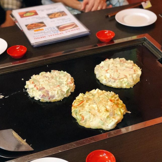 Okonomiyaki (3 Minis For $35++)