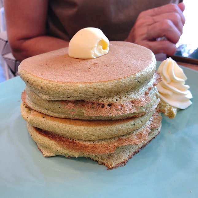 Matcha (Stack Of 4) Pancakes