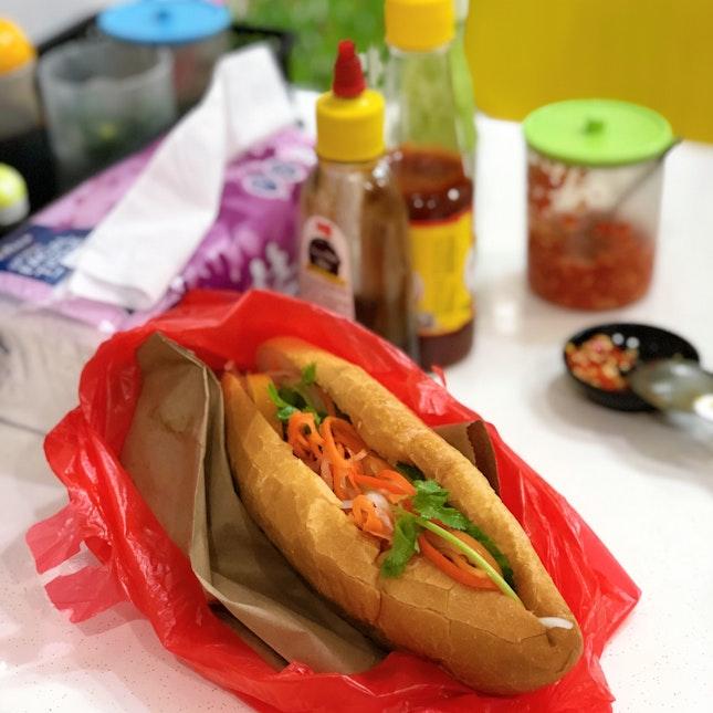 Chicken Banh Mi