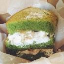 Matcha Snow Chiffon Cake