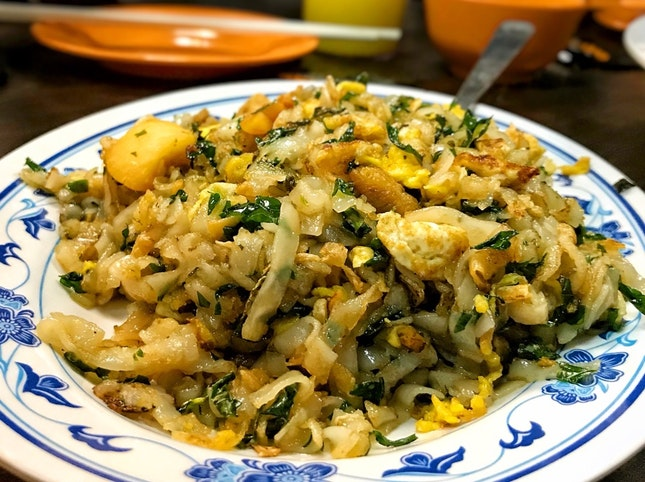 Chye Poh Kway Teow ($10 for small)