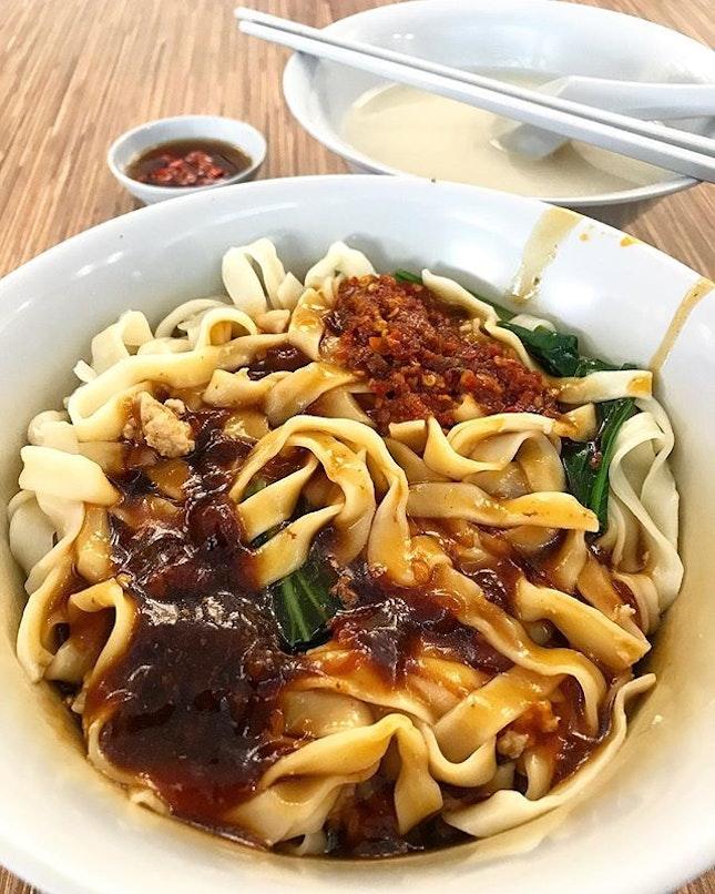 Ban Mian Dry ($3.50)