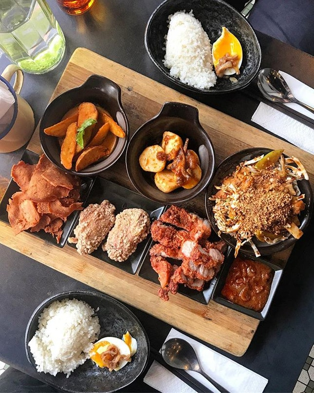 Nasi Lemak Set for 2 ($25++) .