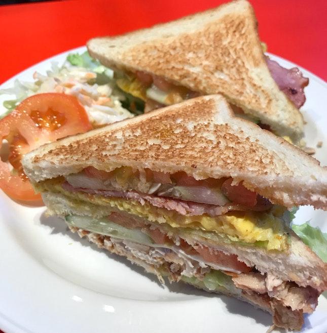 Club Sandwich ($7.50)